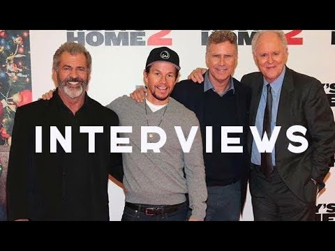 Mel Gibson, Will Ferrell, Mark Wahlberg & John Lithgow - Irish Premiere Interviews for Daddys Home 2