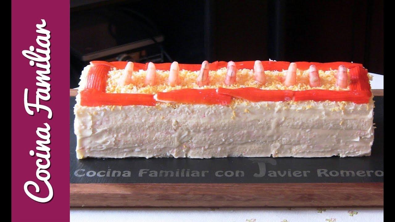 Pastel frío de marisco | Javier Romero