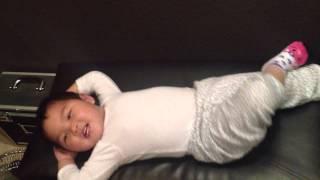 Madi Doing Sit Ups