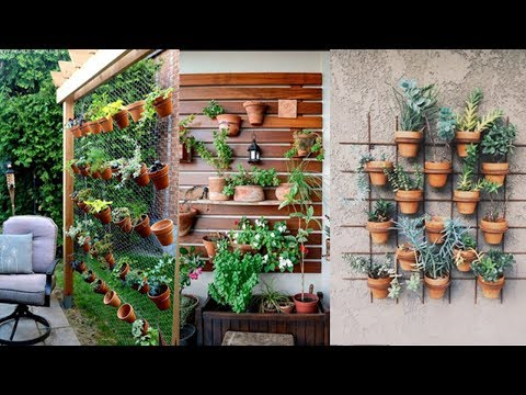 DIY vertical garden design