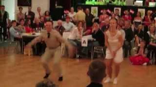 preview picture of video 'Kristóf Zsolt - Kata Szalontai - 2014 Hollabrunn (AU) - Fast Boogie Woogie Final'