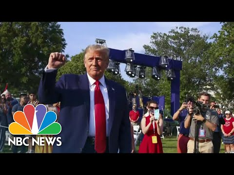 Trump Stokes Divisions As The Pandemic Continues To Grow | Meet The Press | NBC News