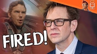 BREAKING NEWS James Gunn FIRED from MCU & GOTG3