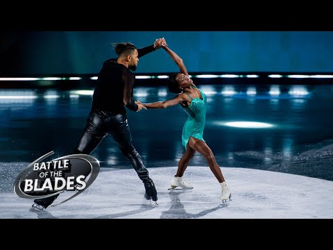 Vanessa James and Akim Aliu perform to 'Ruin'   Battle of the Blades
