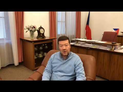 Tomio Okamura: Dnešní aktuality 3.4.2020.
