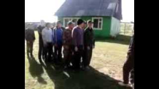 Прикол на военных сборах Усть-Коксинского района.