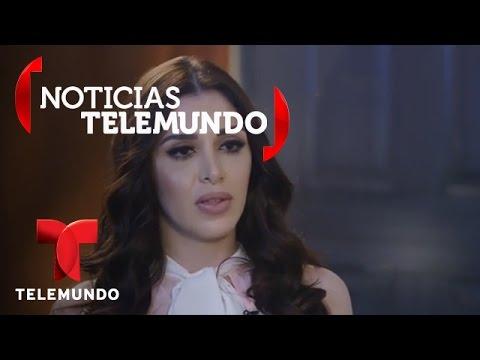 La Esposa De El Chapo Emma Coronel Habla Con Telemundo 25 Noticias Noticias Telemundo
