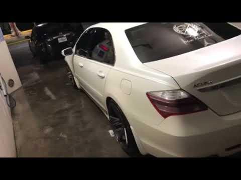 Acura RL on 20's