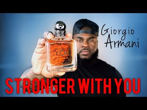 Giorgio Armani Stronger with You Fragrance Review | Emporio Armani Men's Cologne Review