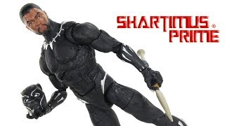 Marvel Legends Series Black Panther 12 Inch Movie Hasbro Action Figure Toy Review