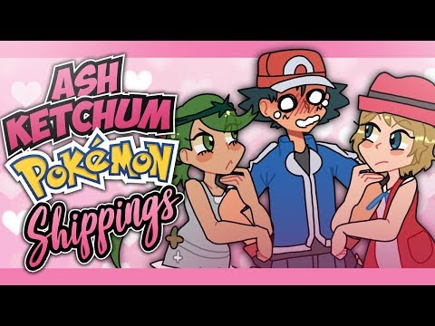Top Ash Ketchum Pokémon Shippings