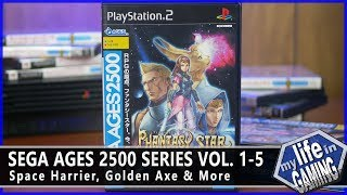 Sega Ages 2500 Vol. 1-5 - Space Harrier, Golden Axe, & More :: Game Showcase