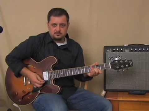 Triad Chords Guitar Lesson - E Major Barre Chord Derived