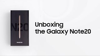 Galaxy Note20: Official Unboxing | Samsung
