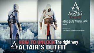 How To Unlock Altair Outfit In Ac Unity Helix Rifts