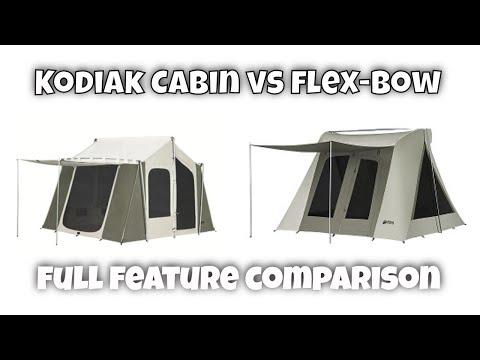 Kodiak Cabin vs Flexbow Tent Review