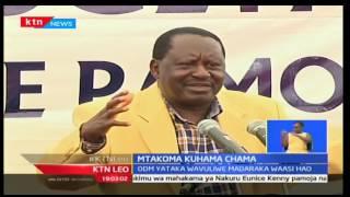 KTN Leo: Kinara wa CORD Raila Odinga alaumu serikali kwa kuwatupilia mbali wananchi walemavu nchini