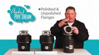 InSinkErator Garbage Disposal Model Comparison - Andy's Pipe Dream