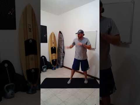 Aprender a Surfar I Treino Para Melhorar o Equilbrio no Surf v8 #shorts