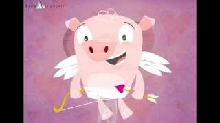 Valentijnskaarten, Hogs and kisses on Valentines Day To personalize and send a Valentines Day eCard go here