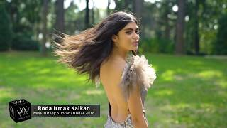 Roda Irmak Kalkan Miss Supranational Turkey 2018 Introduction Video
