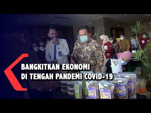 bangkitkan ekonomi ditengah pandemi melalui pameran produk umkm