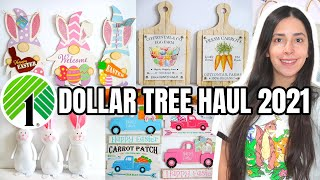 DOLLAR TREE HAUL EASTER PRODUCTS 2021