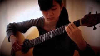 """""""駅 (Eki/Station)"""" 竹内まりや(Mariya Takeuchi)guitar / arranged by Kanaho"""