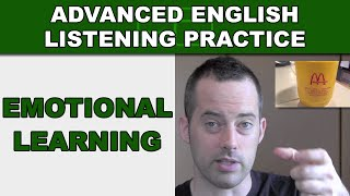 Emotional Learning for Vocabulary Building - Advanced English Listening Practice - 33