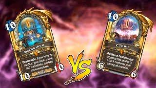 Битва колод: Механо Ктун против Ктуна! Хартстоун