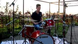 Olly Murs   Wrapped Up   Drum Cover (outdoor)