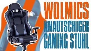 Knautschig Kuschelig, der Wolmics Gaming Stuhl WS238-1 in Grau | Unboxing | Aufbau | Test