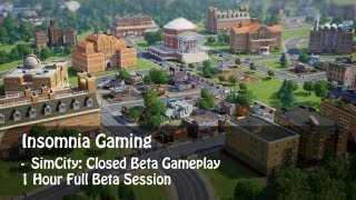 preview picture of video 'SIMCITY [Closed Beta - 1 Hour Gameplay - FullHD]'