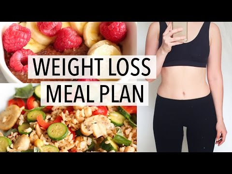 Video WHAT I EAT IN A DAY | WEIGHT LOSS MEAL PLAN FOR WOMEN