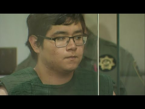 A high school senior who authorities say brought a shotgun to a Portland, Oregon, school but was tackled by a security guard before anyone was hurt has pleaded not guilty to gun-related charges.  (May 20)