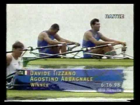 AGOSTINO ABBAGNALE e DAVIDE TIZZANO OLIMPIADI ATLANTA 1996