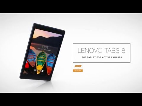 Lenovo TAB3 8 Product Tour Video