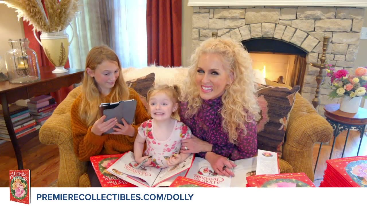 A Dolly for Christmas: The True Story of a Family's Christmas Miracle by Kimberly Schlapman