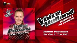 Isabel Provoost – Set Fire To The Rain The Voice Of Holland 2016/2017 Liveshow 5 Audio