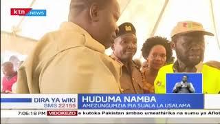 Matiang'i na Gavana Nyong'o waongoza usajilishaji wa Huduma Namba