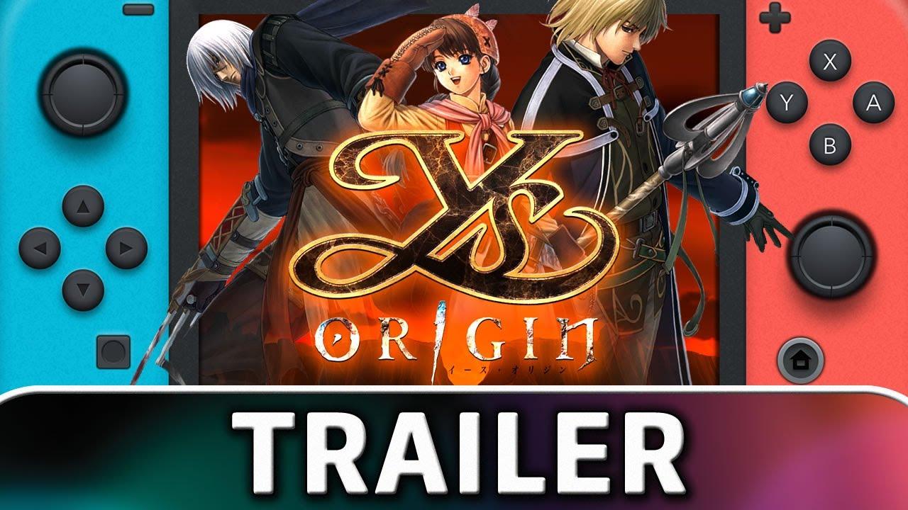 Ys Origin | Nintendo Switch Trailer