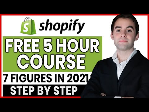 FREE Shopify Dropshipping Course | Real 7 Figure Results (Complete A Z Blueprint 2021)