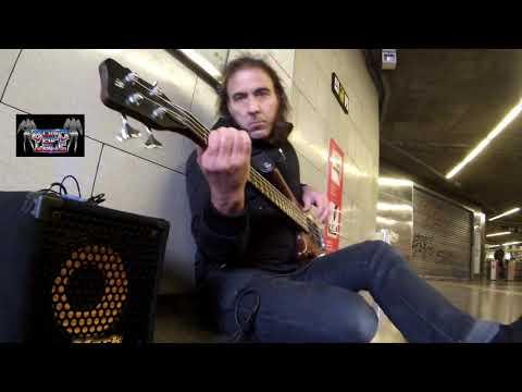 Manowar gloves of metal bass cover