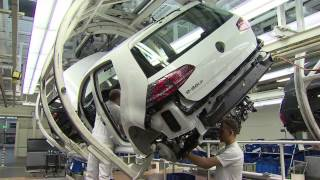 Volkswagen e-Golf Production Wolfsburg plant
