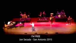 I'M FREE Jon Secada LIVE - San Antonio 2015