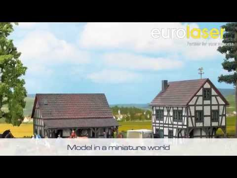 Model railways made of plywood | Laser cutting