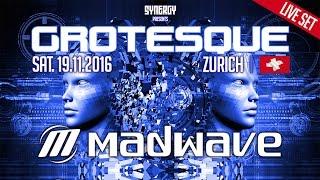 Madwave Live @ Grotesque - Alte Kaserne Zurich (19.11.2016)