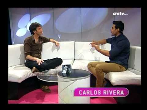 Carlos Rivera video Entrevista y Acústico - Estudio CM 2014