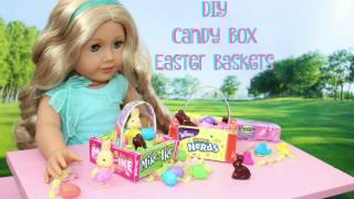 DIY   Easter Candy Baskets