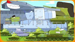 ВСЕ СЕРИИ Тяжёлый замес монстров Мультики про танки